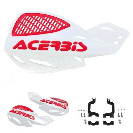 Acerbis Uniko Hanguard White Red
